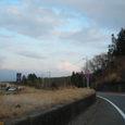 箱根の国道1号から望む富士山