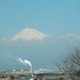 道の駅「富士」から望む富士山(1)