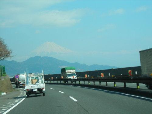 正面に望む富士山(1)