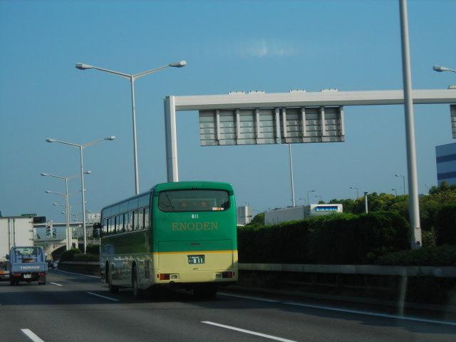 江の電のバス